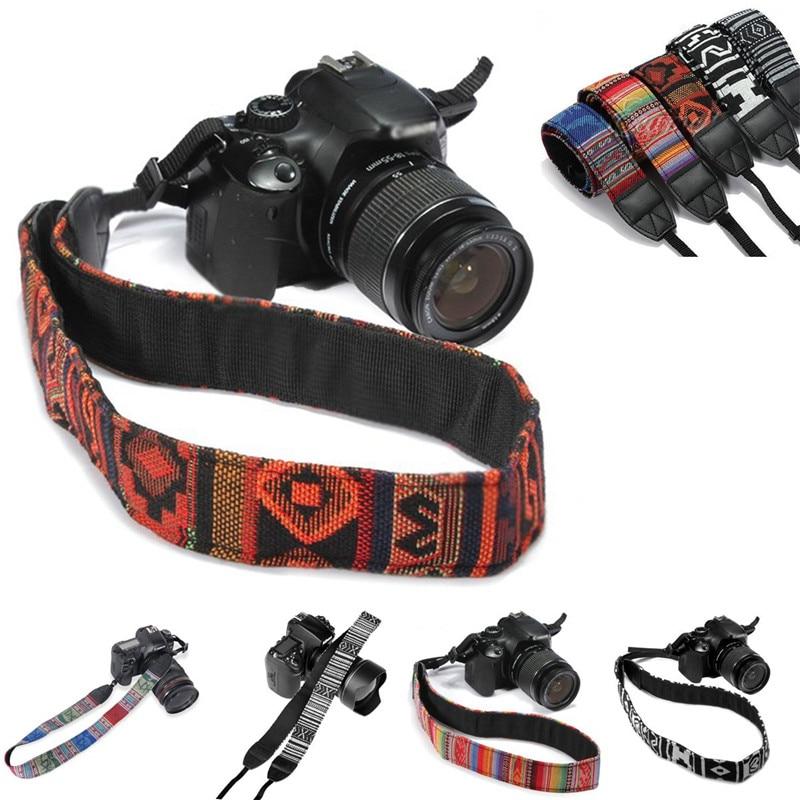 Ретро камера плечевой ремень средства ухода за кожей шеи ремни для DSLR SLR Nikon Canon sony Panasonic Pentax Olympus Kodak Универсальный Лидер продаж