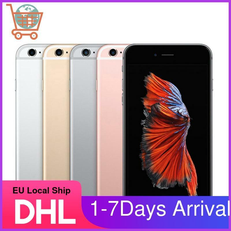 Unlocked Apple iPhone 6S Smartphone 4.7inch Original IOS Apple Phone 16/32/64/128GB ROM 12.0MP Dual Core A9 4G LTE Mobile Phone