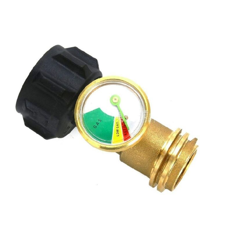 Indicador de nivel de depósito de propano Detector de fugas medidor de presión para parrilla de Gas