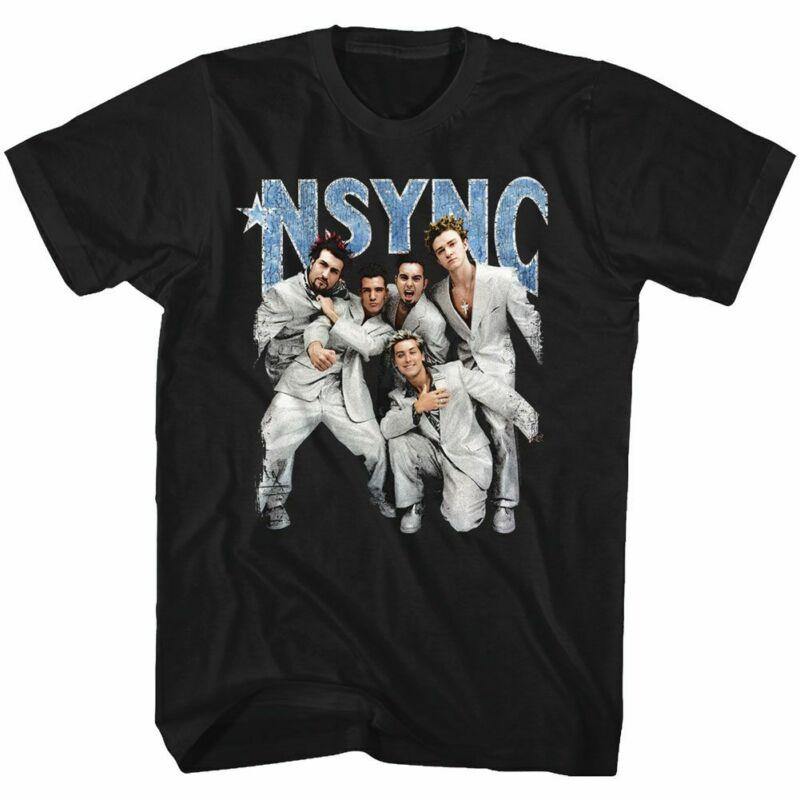 Nsync - Streik una Pose-americano clásicos-Erwachsenen camiseta