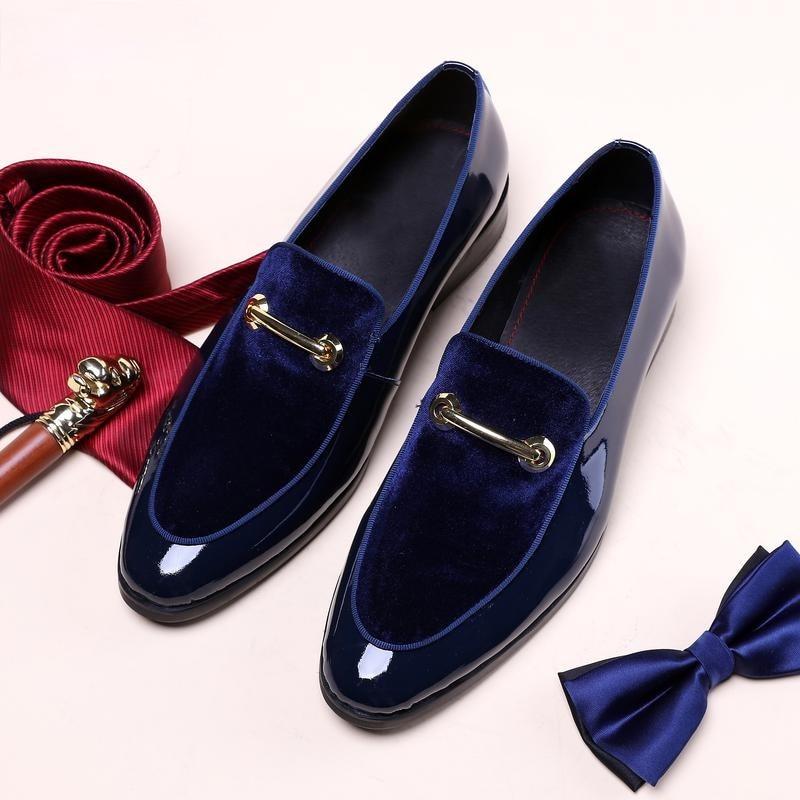 Новинка, мужские классические туфли, туфли из лакированной кожи, роскошные модные свадебные туфли для жениха, мужские Роскошные туфли оксфо...