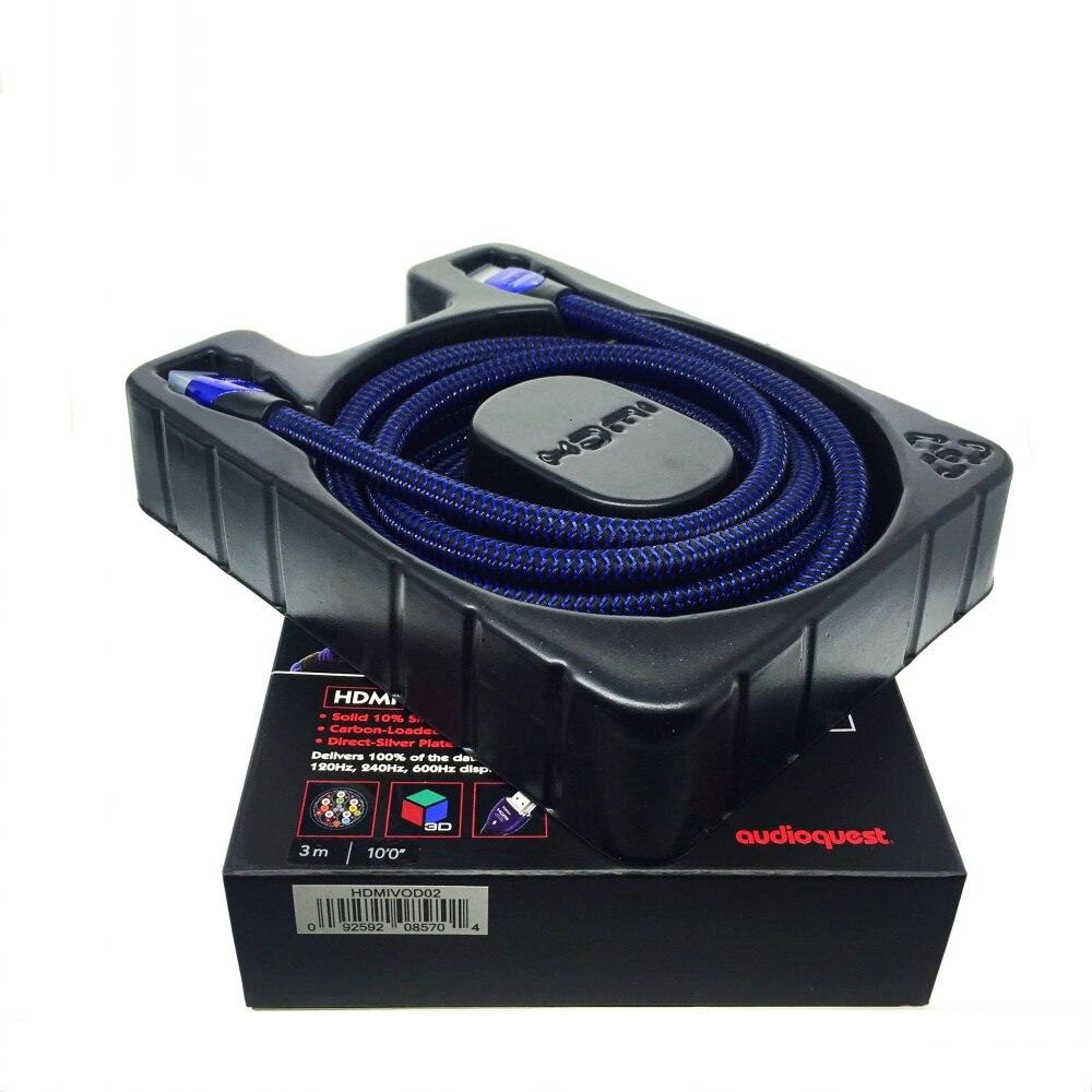 HIFI, VODKA, Cable HDMI, vídeo Plasma, AV TV, Cable 3D y 4K Ultra HD 2160P, caja Original