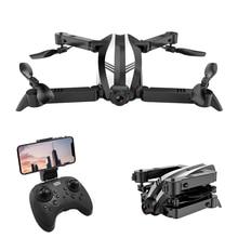 GW68 quadrorotor Drone RC hélicoptère WIFI FPV pliable quadrirotor Selfie Drones avec caméra HD Mini drone X Pro Drone Rc