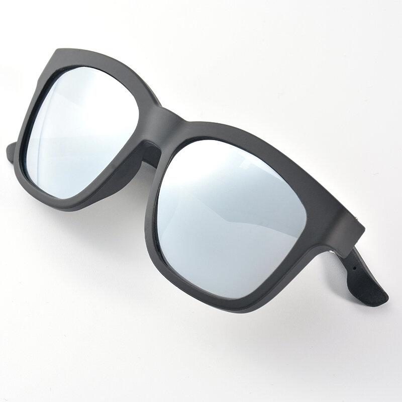 K4 Phone Call Play Music Wireless bluetooth Glasses One-click Control Anti-light Blue Sunglasses BT5.0 Smart Glasses enlarge