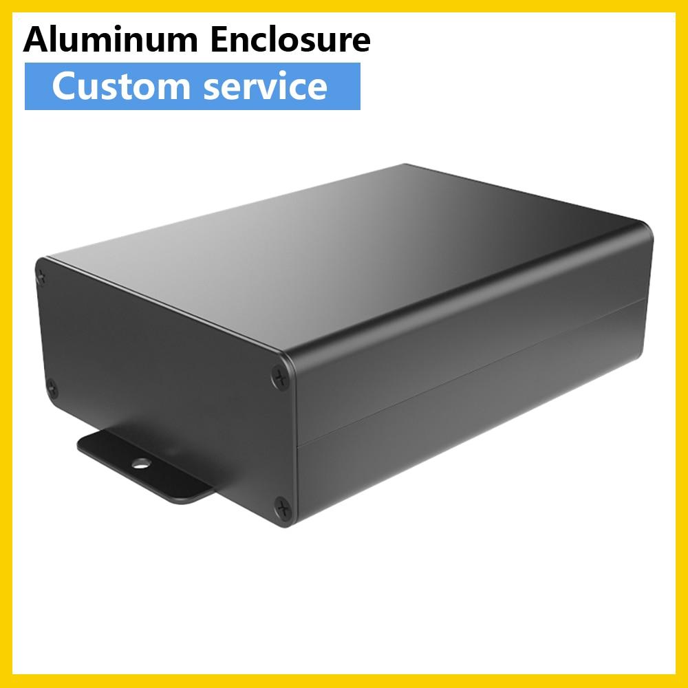 الليزر الرملي حماية الضميمة المكونات الإلكترونية اللوحة الأم لتقوم بها بنفسك صناديق سوداء H10 88W38H