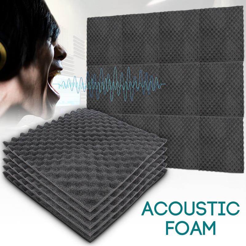 50x50x1.5cm Soundproofing Acoustic Foam Treatment Sound-absorbing Cotton Noise Sponge Excellent Soun