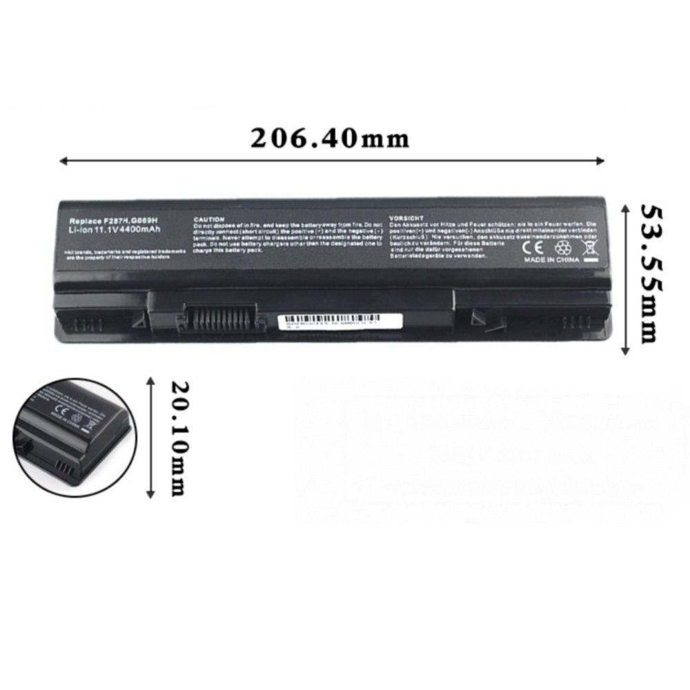 Batería de tamaño Original para Dell 0F287H 451-10673 F287H DLA860LH, baterías de ordenador portátil