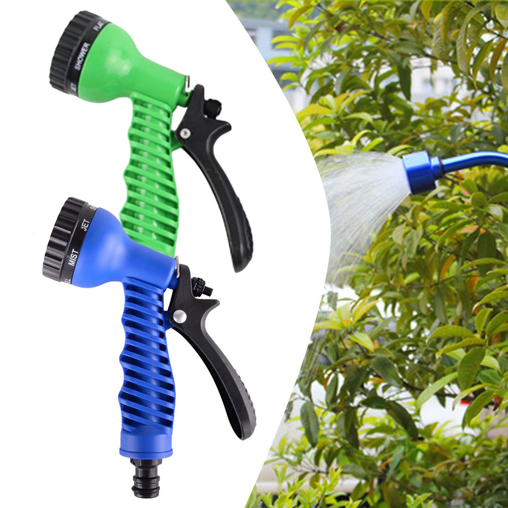 Car Garden Water Spray Lawn Sprinkler Car Wash Water Gun Ajustable Hose Nozzles 7 Pattern High Pressure Power Washer