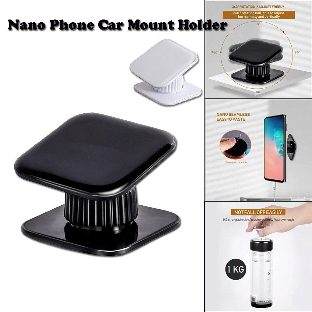 Car phone holder Nano Phone Car Mount Holder 360-Degree Rotation Reusable Nano Magic Sticker Popsocket for mobile phones