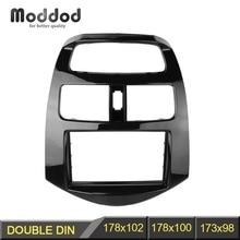 Double 2 Din Radio Fascia pour Chevrolet Spark Daewoo Matiz battre tableau de bord Installation garniture tableau de bord Kit cadre DVD CD lunette panneau
