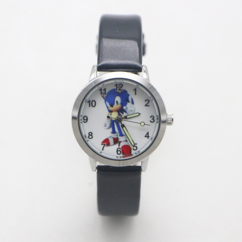 New Arrival Children Fashion Sonic Wristwatch For Boys Girls Gifts Simple Student Kids Watch Clock R