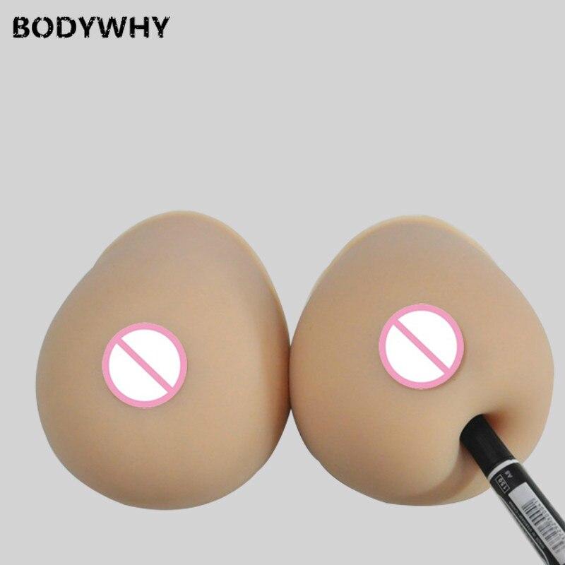 2400 جرام/زوج البيج سيليكون الثدي الاصطناعي سيليكون الثدي وهمية الثدي سيليكون الثدي Froms ل كروسدرسر استئصال