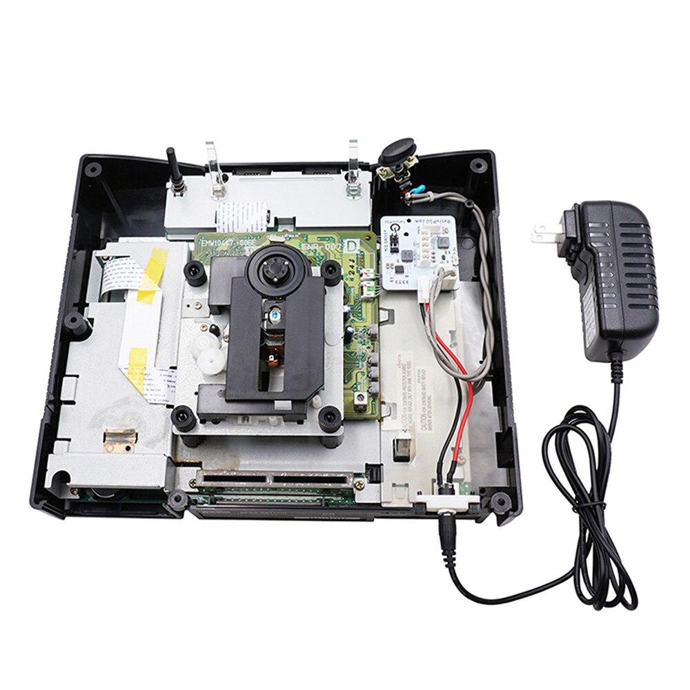 Para sega game console fonte de alimentação 12v jogo máquina substituição de energia kit conjunto para saturnpsu rev2.0 versão