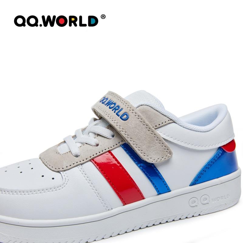 QQ WORLD 2021 Boys Girls Children Sport Running Shoes Fashion Outdoor Sneaker Casual Footwear Velcro Design Light Comfortable enlarge