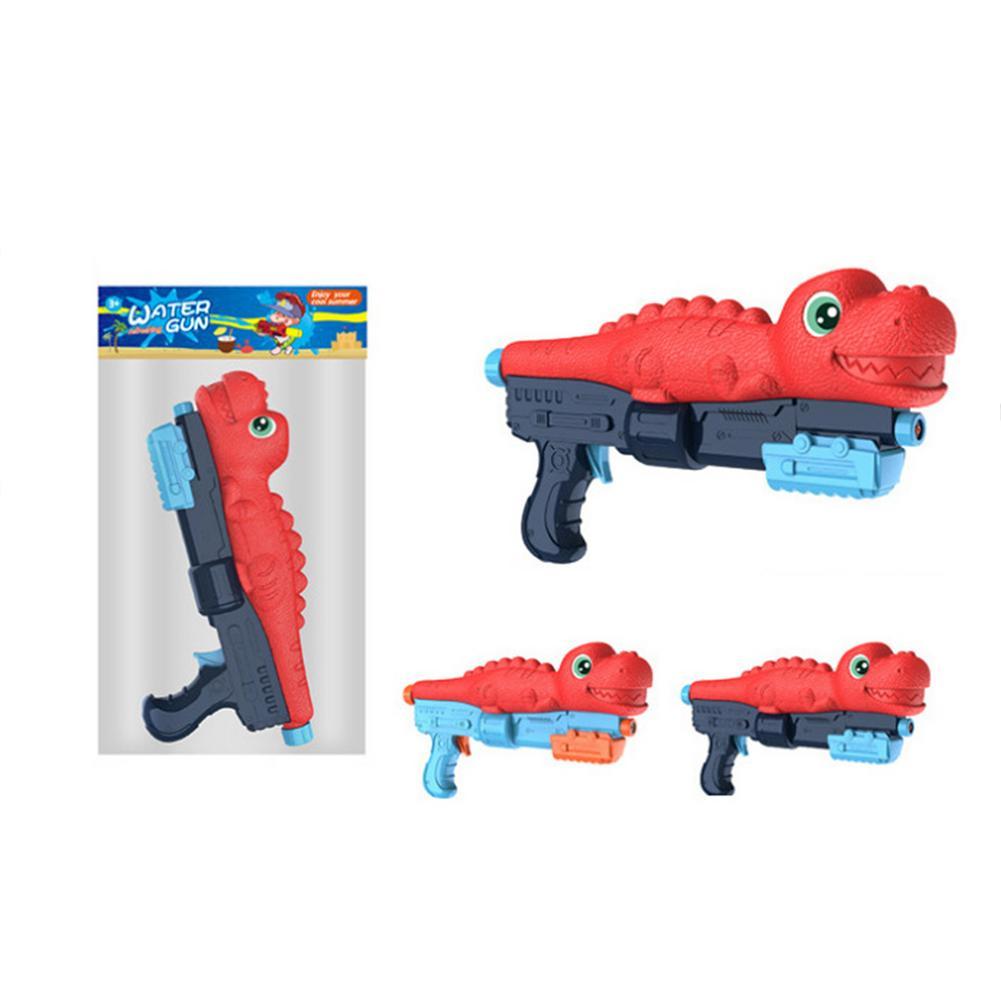 Игрушка для стрельбы по воде Soaker Shark Dinosaur Shape Water Spray Toy Beach Kids Play Gun