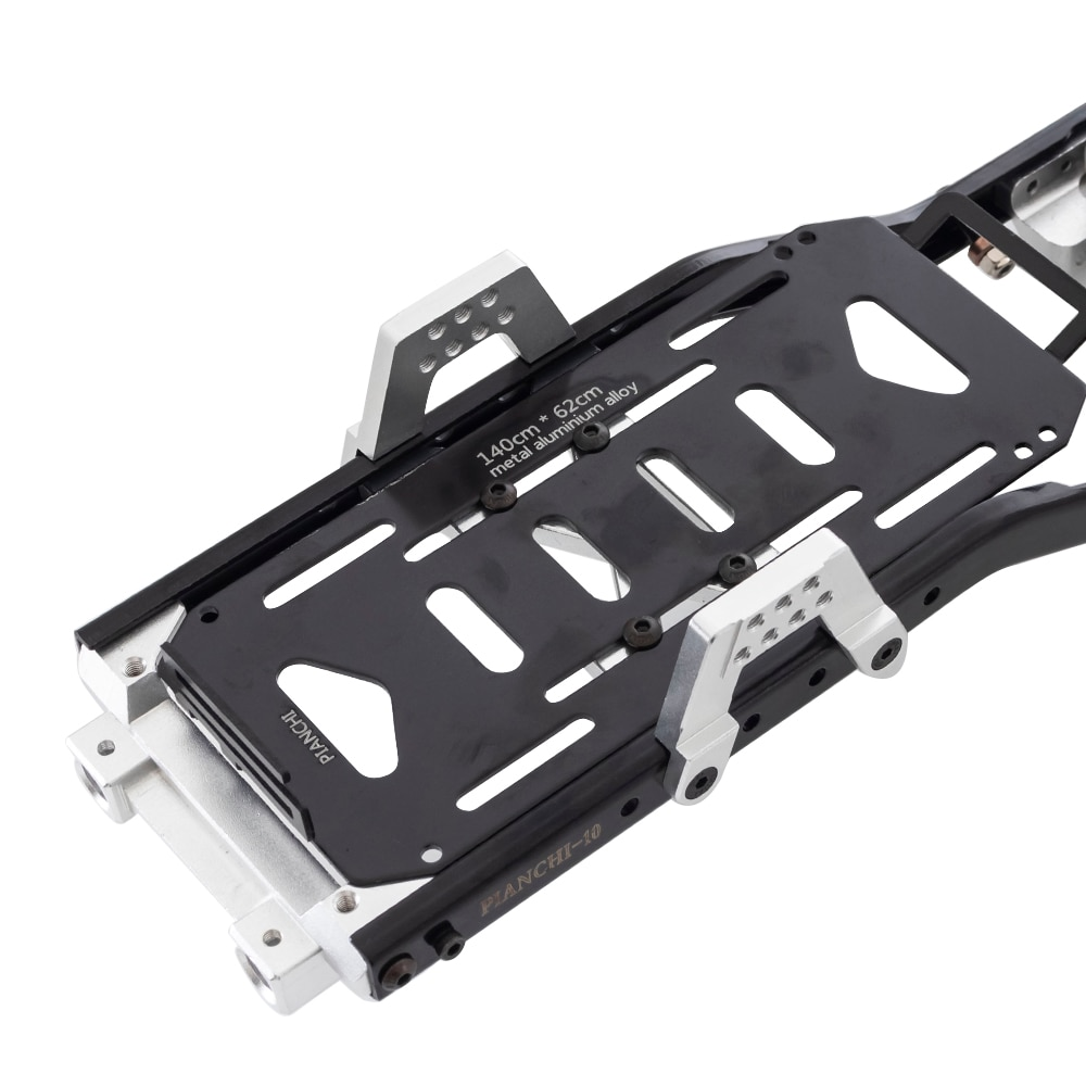 Metal 313mm Wheelbase Chassis Frame with Prefixal 2 Speed Gearbox Transmission for 1/10 RC Crawler Car Axial SCX10 90046 enlarge