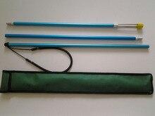 100% Brand New 2.2M poleSpear 3 in 1 Aluminium Straight Polyspear Spear fishing fork pole spear Retractable pole spearfishing