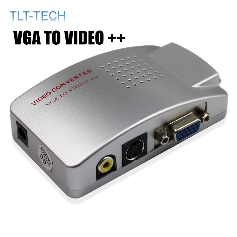 professional digital vhf uhf rf modulator av to rf avto tv converter adapter eu plug modulator tv converter adapter dropshipping VGA To TV AV RCA Signal Composite Adapter Converter Video Switch Box PC To TV AV Monitor Composite for Computer Laptop PC