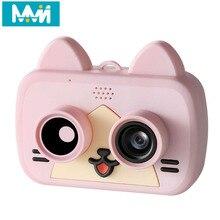 Ultra-Mini Slimme Kinderen Camera Ips 1080P Hd Kinderen Waterdichte Digitale Camera 1200W 2-Inch cartoon Camera Ondersteuning Wifi Tf Card