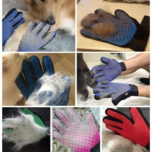 Pet cleaning gloves cat and dog hair removal gloves beauty hair removal gloves bath massage pet brus