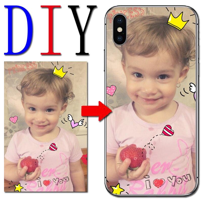 Unique Custom DIY Design Photo Case For Doogee BL7000 5000 mix2 Y6 X5 PRO X5Max X20 X30 X60L Soft TPU Silicone case
