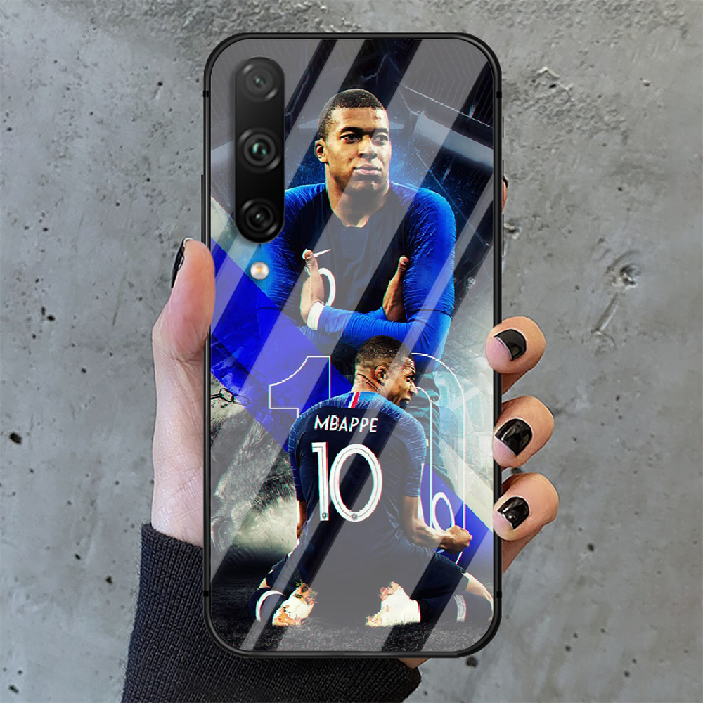 Kylian Mbappe football Phone Tempered Glass Case Cover For huawei honor 7 8 9 10 20 A X S lite i pro Trend Cell Waterproof Hot  - buy with discount