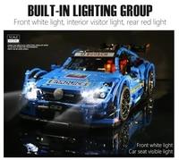 mould king moc high tech super c63 sport racing car model sets building blocks bricks kids educational diy toys birthday gifts