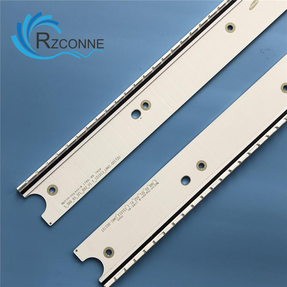 "LED Backlight Lamp strip for Samsung 65"" TV BN96-34776A 4777A S 5N9 65 SFL A52 B52 V1.1 LM41-00172T 00172U UN65JS8500 UN65JS9000"