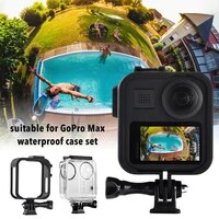 Sport Camera Protective Case Waterproof Protection Shell Cover Set With Tripod Adapter Camera Accessories For GoPro Max