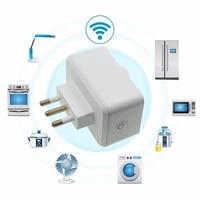Italie Standard prise intelligente prise WiFi 16A moniteur de puissance fonction de synchronisation APP prise de controle fonctionne avec Alexa Google Home
