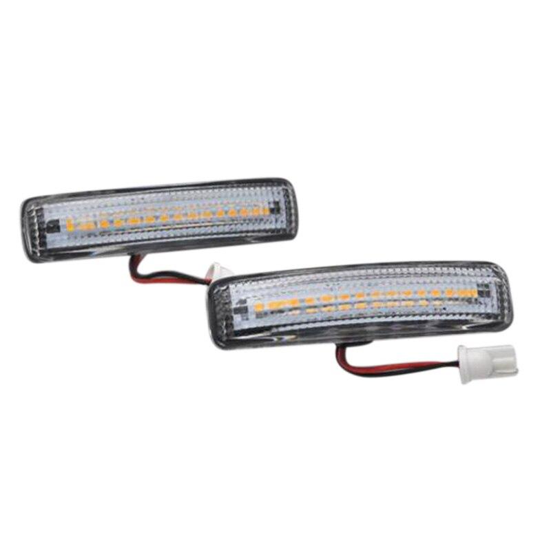 2 luces LED indicadoras laterales para Range Rover Sport L320 2005-2009