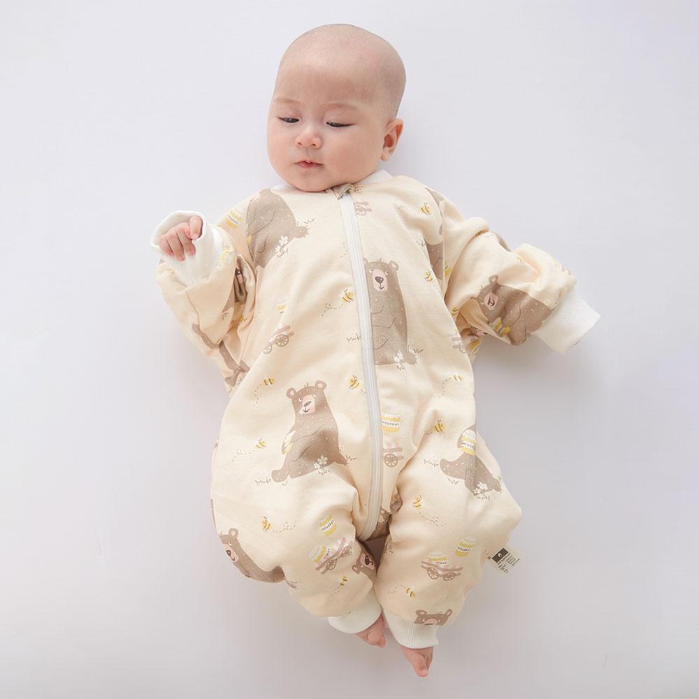 Sleeping Bag Baby Carriage Sack For Newborn Baby Cartoon Pattern Children Bed Play Split Leg Warm Winter Anti Tipi Sleepsacks