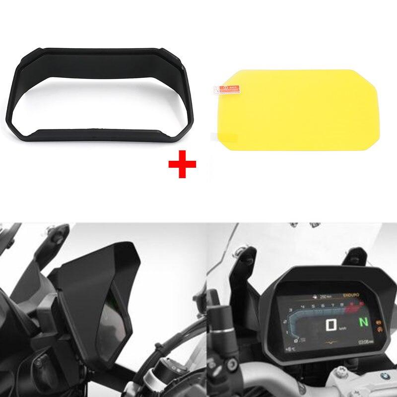 Sun Visor Dashboard Tachimetro Contagiri Copertura Display Dello Schermo per BMW F750GS F850GS R1200GS LC / LC Adv R 1250 GS/Avventura