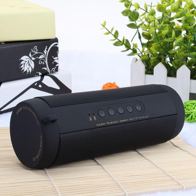 Оригинальная Беспроводная Bluetooth Колонка Ecoboseo, автомобильная портативная уличная колонка, басовая колонка, громкий динамик, FM, SD-карта, Aux Micro