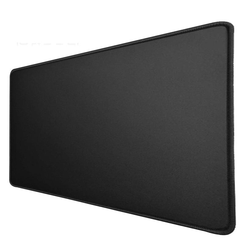 لوحة ماوس سوداء مقاس XL 900 × 400 × 3 مللي متر ، حافة مخيطة غير قابلة للانزلاق ، مثالية لسطح المكتب أو الألعاب أو الكمبيوتر المحمول ، مصنوعة من المط...