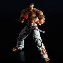 Tekken Figura Gioca Arts Kai Kazuya Mishima Figure Toy Anime Tekken Action Figure IN PVC Playarts Kai Collection Modello Bambola 26cm