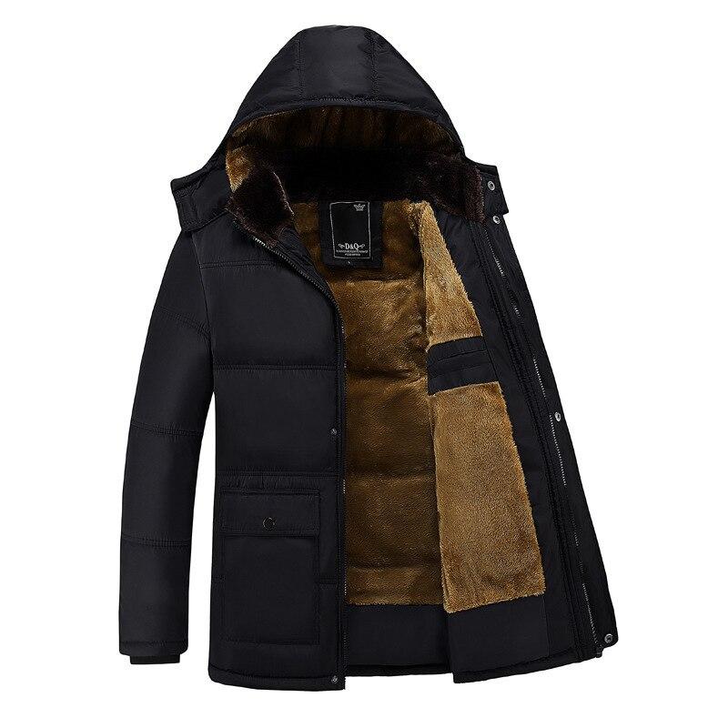 Мужская куртка, зима 2021, бархатная утепленная Повседневная модная мужская одежда для мужчин среднего возраста, куртки для мужчин, одежда вы...