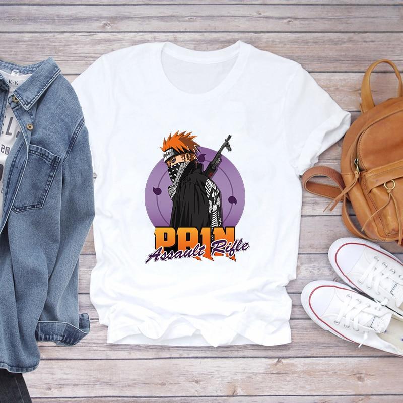 2021 Summer Funny T-shirts Woman Oversize Print T-shirt Korean Anime Graphic Friends Japanese T-shirt Woman Big Size 8xl