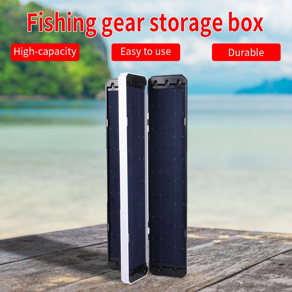 32/45/55CM Fishing Tackle Gear Tools  Case Large Capacity Durable Fishing Gear Accessories Fishing Tools Storage Box enlarge