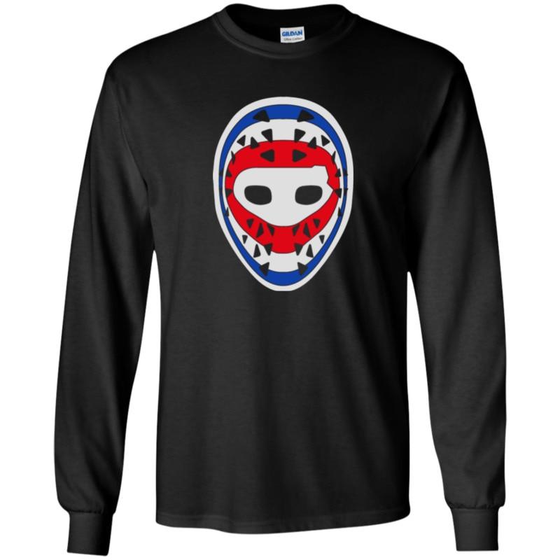 Ken Dryden, máscara de portero, Montreal, canadienses, manga larga, camiseta