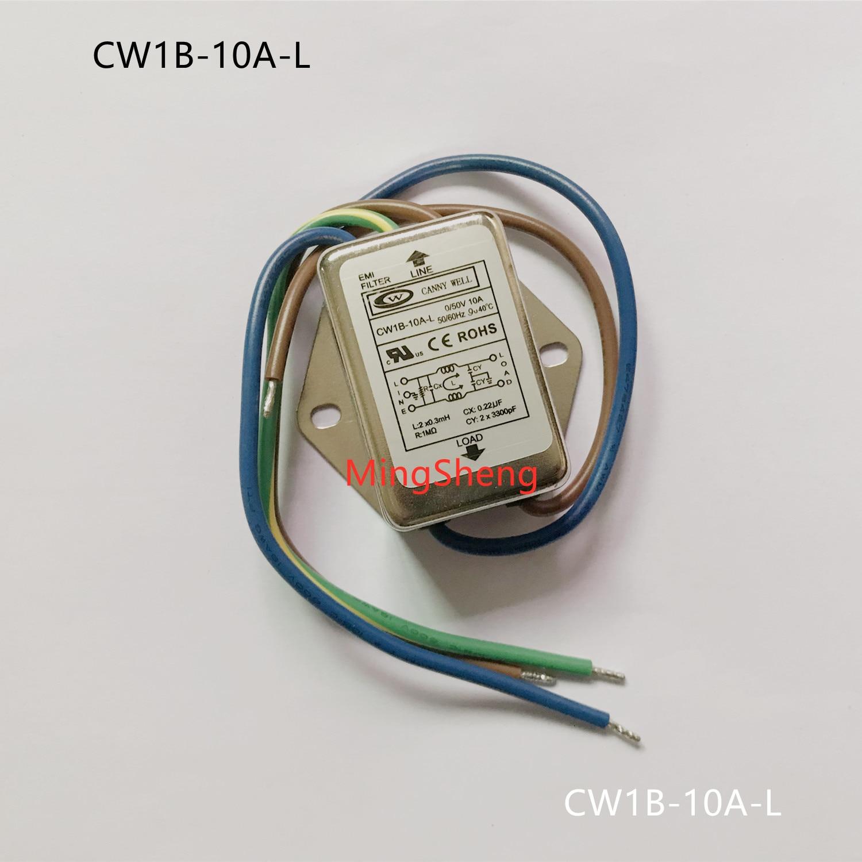 Original new 100% 0-50V DC power filter CW1B-10A-L large side band line