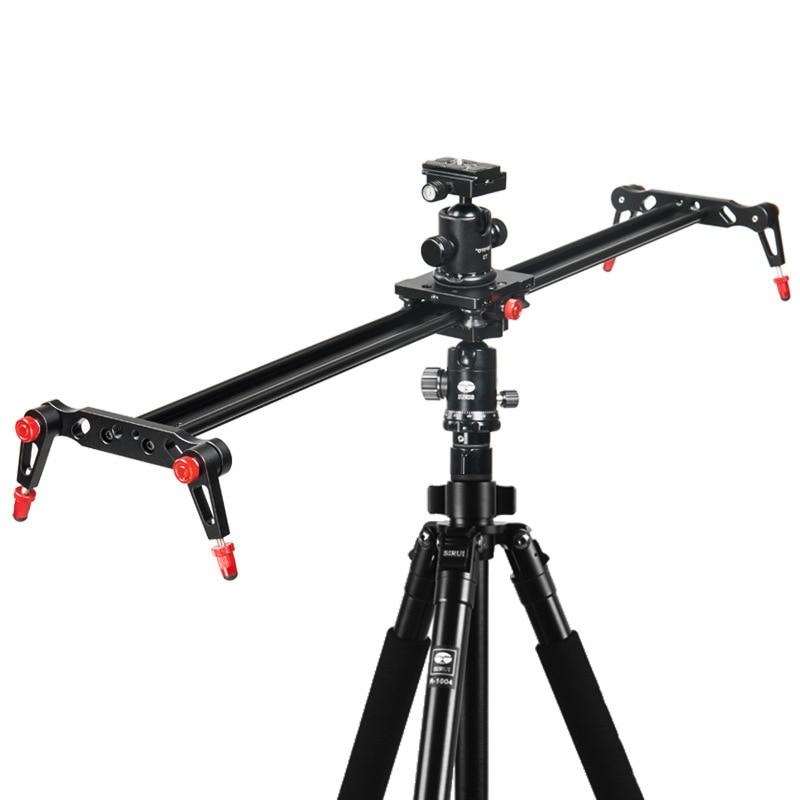 For Cameras Camcorders SLR photography camera guide rail 40/60/80/100/120CM Sliding-Pad Track Slider Video Stabilizer System enlarge