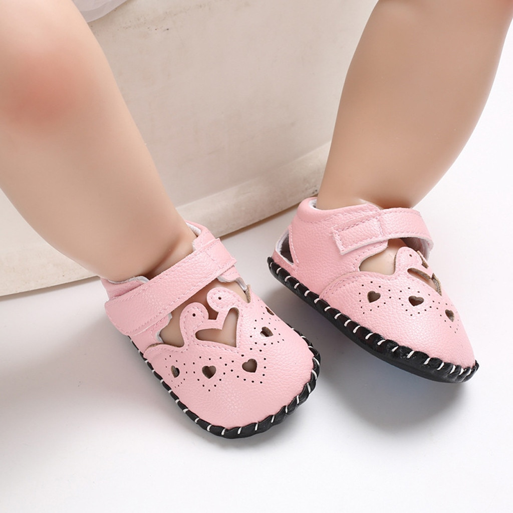 Productos MUQGEW Baby Summer First Walkers buena antideslizante Soft Bottom Girls Boys Animal decorativo Soft Bottom antideslizante zapatos de bebé