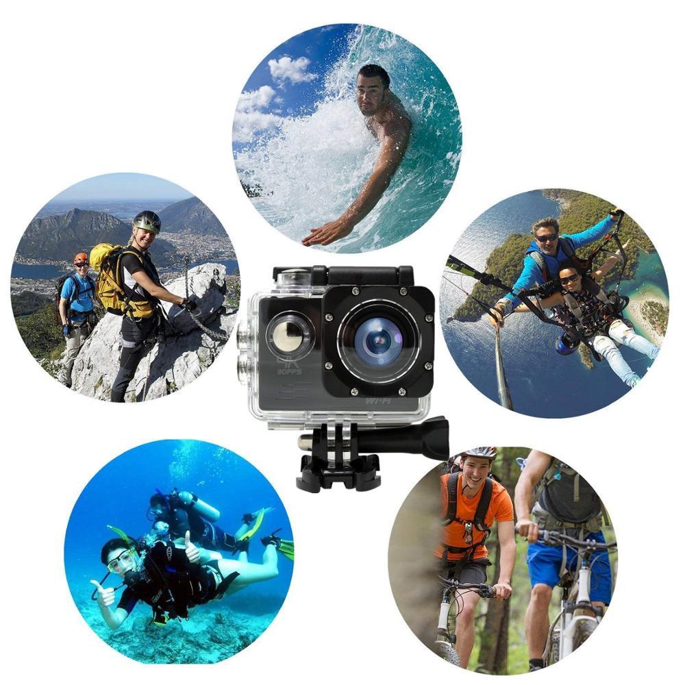 Action Camera Ultra HD 4K 16.0MP WiFi 2.0