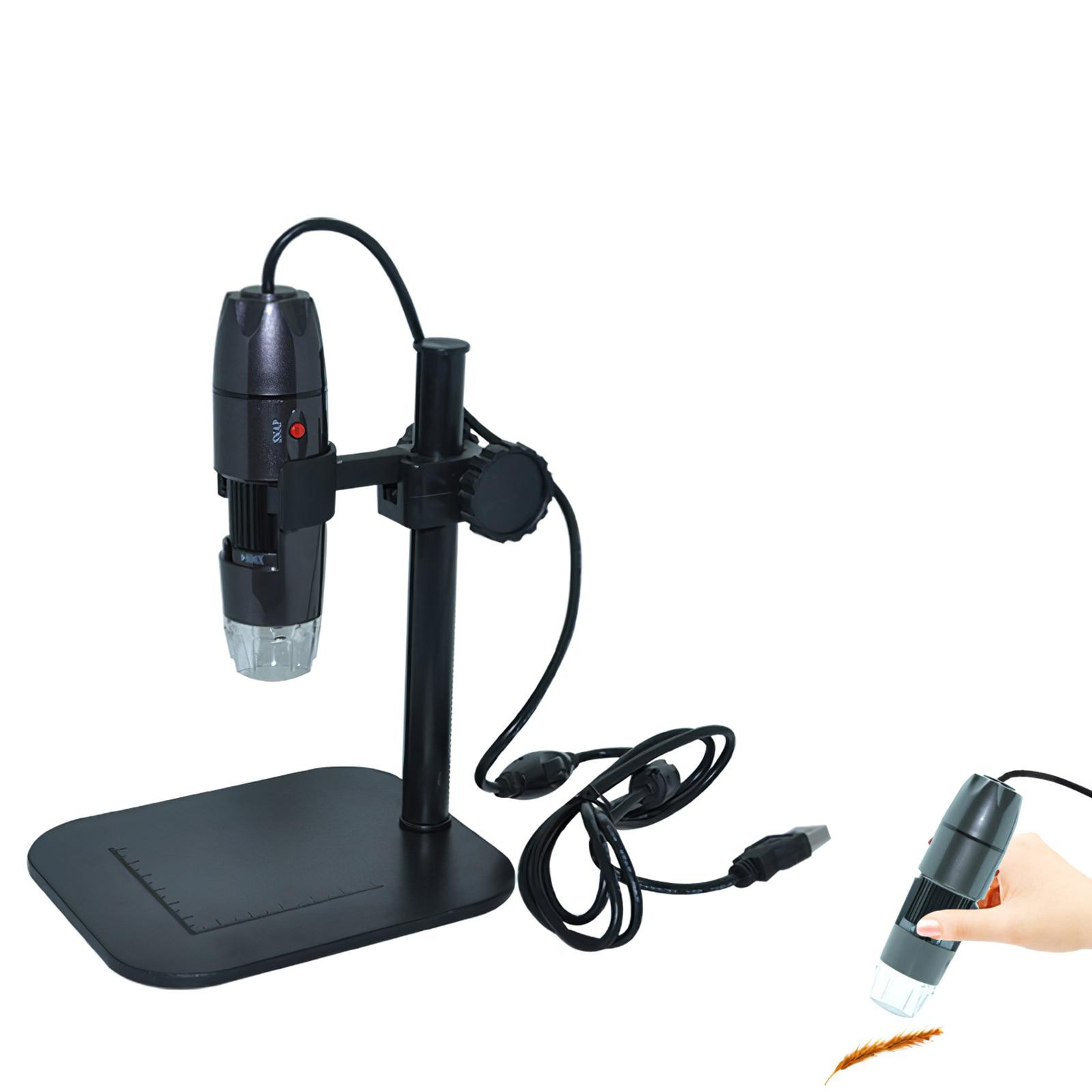 XSC Microscope Holder Stand Bracket Holder Universal Microscope Bracket Portable USB Digital Electronic Table Microscopes supereyes b005 200x usb digital portable manual focus microscope w tripod set silver