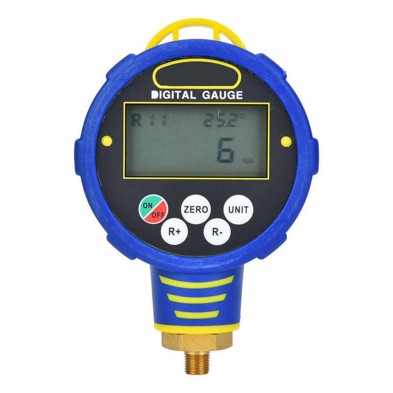 1/8in NPT R32/ WK-688H مقياس الضغط الرقمي قياس الضغط المنخفض تكييف الهواء المبردات أداة فراغ الضغط