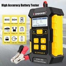 Универсальный прибор для проверки автомобильного аккумулятора, 12 В, автоматическое импульсное зарядное устройство 5 А, автомобильное зарядное устройство для аккумулятора s, влажная, сухая, AGM, гель, свинцово кислотный инструмент для ремонта автомобиля KW510