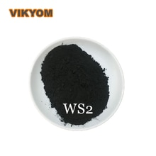 99.9% High Purity Micrometer WS2 Powder Superfine Nano Tungsten Disulfide Powder Lubricant Powder For Experiment