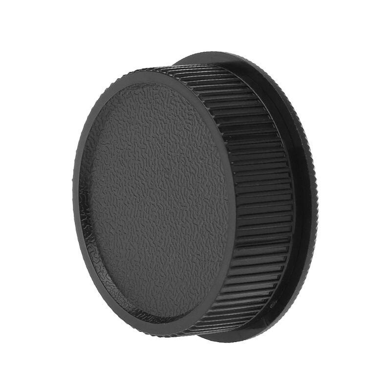 Tapa de lente trasera/tapa de cuerpo montaje de tornillo para Universal 39mm Leica M39 L39 negro L41F