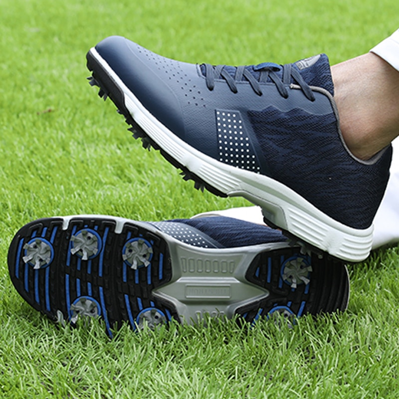 AliExpress - New Waterproof Golf Shoes Spikes Professional Golf Sneakers Big Size 7-14 High Quality Sport Sneakers Outdoor Mens Footwears